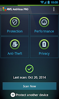 Screenshot of AntiVirus PRO Android Security