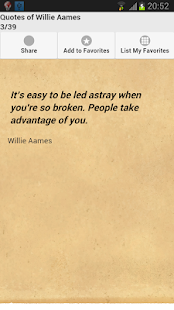 Quotes of Willie Aames - screenshot