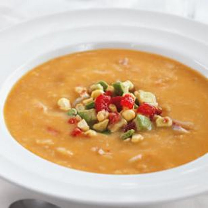... avocado and crab recipe myrecipes chilled avocado soup with crab and