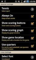 Screenshot of Keep Score - Scoreboard