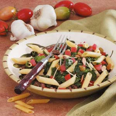 Spinach Turkey Penne