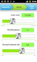 Screenshot of Mortgage Calculator XXII