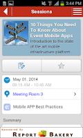 Screenshot of Eventpedia