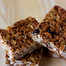 Crunchy Good-for-You Granola Bars