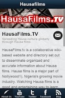 Screenshot of HausaFilms.TV - Hausa Films
