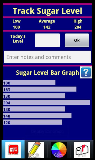 【免費醫療App】Track Your Blood Sugar Level-APP點子