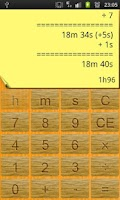 Screenshot of Time Calculator