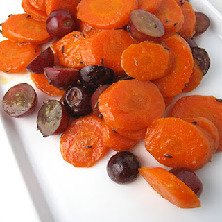 Carrots with Caraway and Grapes