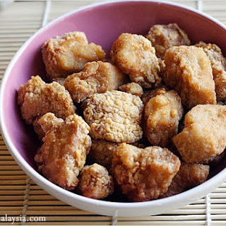 Chicken Karaage (Sesame Fried Chicken) 唐揚げ
