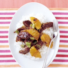 Beef and Orange Stir-Fry