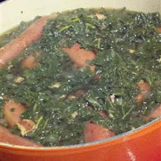 North German Gruenkohl (Kale) and Sausage