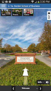 UVA Darden Virtual Tour - screenshot