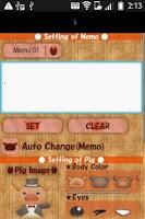 Screenshot of PigMemo