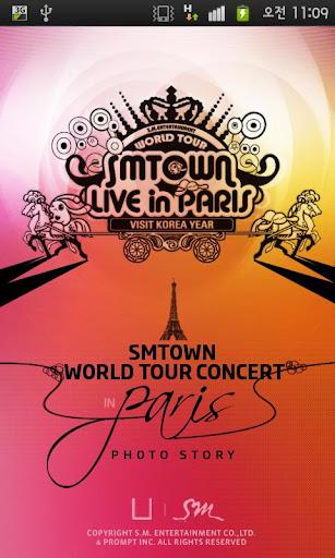 SMTOWN 라이브 월드 투어 콘서트 - 포토스토리