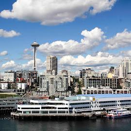 Seattle, WA by Marjorie Bazluki - Buildings & Architecture Office Buildings & Hotels
