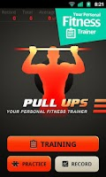 Screenshot of Pull Ups Workout