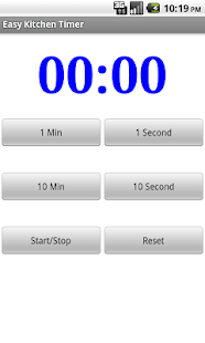 Easy and Simple Kitchen Timer - screenshot