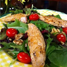 Wonderful Raspberry Walnut Dinner Salad