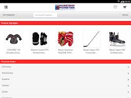 Screenshot of Hockeyshop-Forster