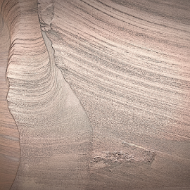 Canyon Wall by Phyllis Plotkin - Abstract Patterns ( abstract, textures, lines, filters, wall )