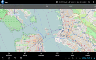 Screenshot of Ultra GPS Logger Lite