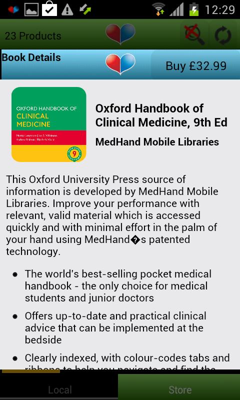 MedHand Mobile Libraries Screenshot 1
