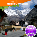 Courmayeur Street Map icon