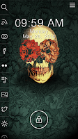 Screenshot of Sugar Skull - Start Theme