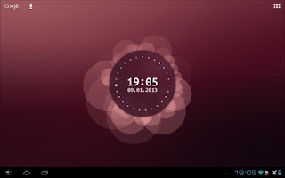 Screenshot of Ubuntu Live Wallpaper Beta
