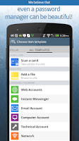Screenshot of oneSafe | password manager