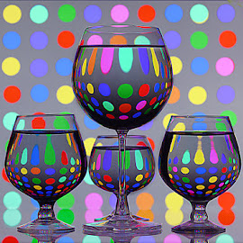 I love polka dots by Rakesh Syal - Artistic Objects Other Objects