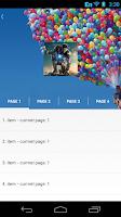 Screenshot of ParallaxHeaderViewPager Sample