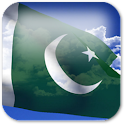 3D Pakistan Flag + icon