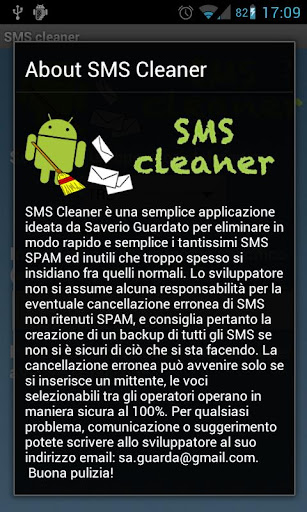 SMS SPAM Cleaner