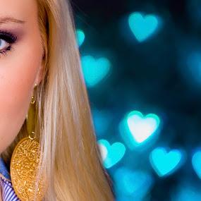 Barby by Gregor Grega - People Portraits of Women ( studio, model, girl, beautiful, blue eyes, cute, portrait,  )