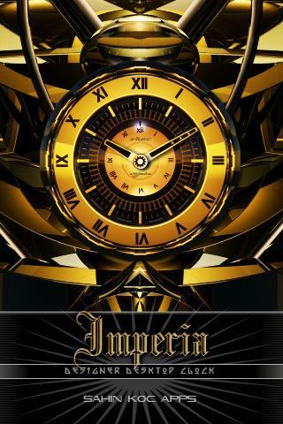 因佩里亞美麗的時鐘部件