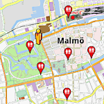 Malmö Amenities Map APK Image