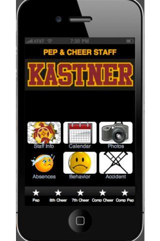 Kastner Pep Cheer Staff