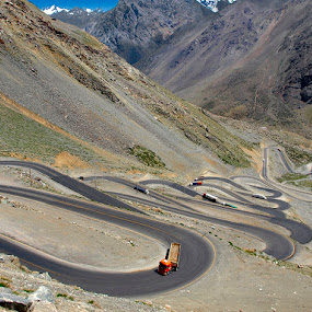 Switchback by Khaled Ibrahim - Transportation Roads