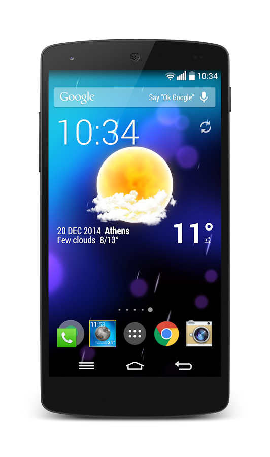 Weather Animated Widgets Screenshot 2
