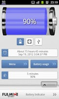 Screenshot of Battery Indicator
