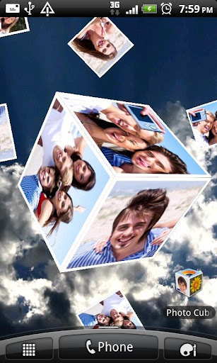 Photo Cube Live Wallpaper Version 22 Free Download Apps Games