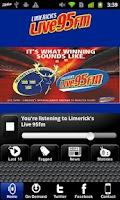 Screenshot of Limerick's Live 95FM