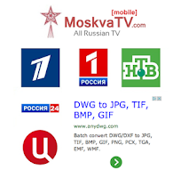 Screenshot of Russian TV Online