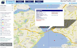 Screenshot of Boat Beacon - AIS Navigation