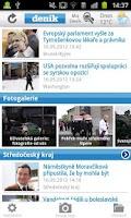 Screenshot of Deník 2.0