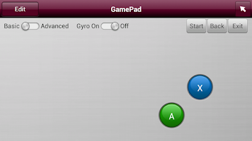 Screenshot of LG TV Gamepad 2013