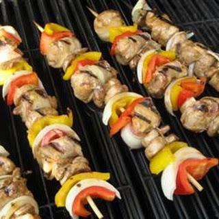 Chicken And Vegetable Shish Kabob Recipes