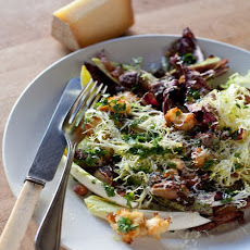 Warm Winter Bread Salad