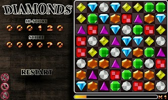 Screenshot of Diamond Blaster